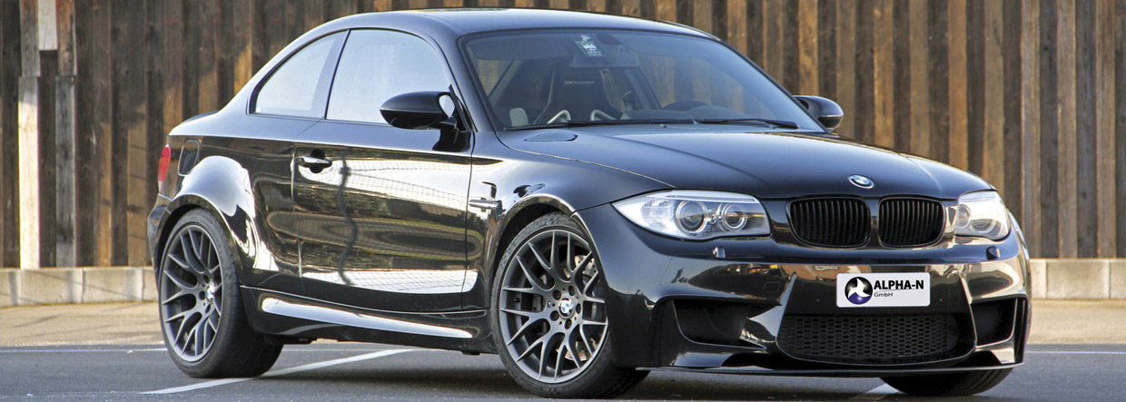 Alpha-N Performance BMW 1 Series M Coupe Front View