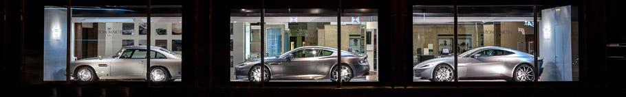 Aston Martin Exibition