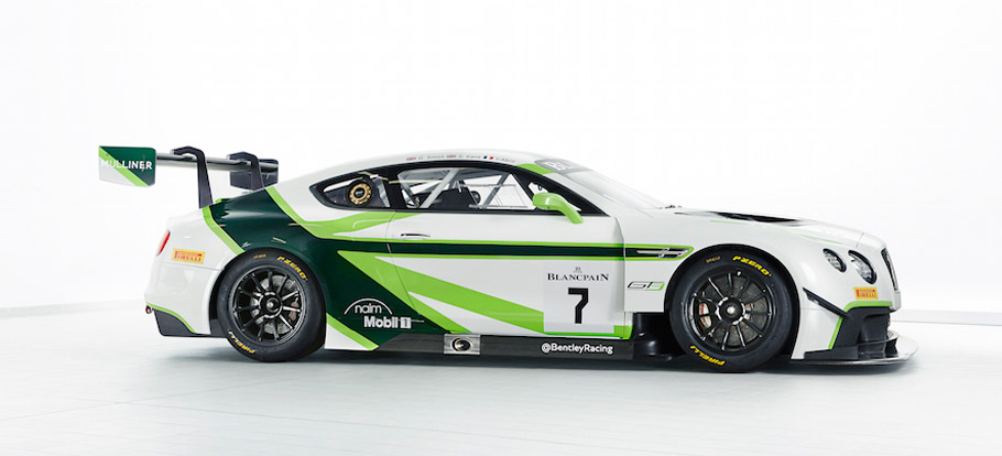 Bentley Continental GT3 2016 Livery