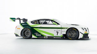 bentley continental gt3 with new livery for bathurst 12 hours
