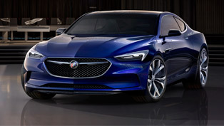 2016 buick avista concept: beauty and passion unite