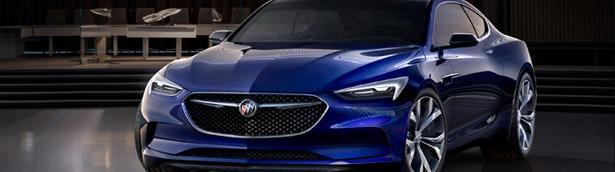 2016 Buick Avista Concept: Beauty and Passion Unite