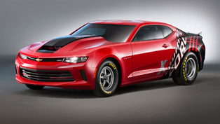2016 Chevrolet COPO Camaro VIN#001 Gathers Money for Charity at Barrett-Jackson