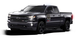 Chevrolet and Realtree Create a Special Silverado 1500 LTZ Z71 Edition