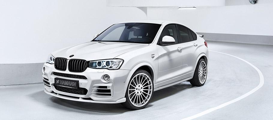 HAMANN BMW X4 F26 Front View