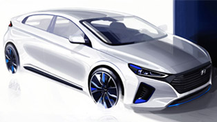 Hyundai IONIQ Concept Will Debut At the Korea Motor Show this January