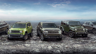 jeep unveiles the special 75th anniversary edition models