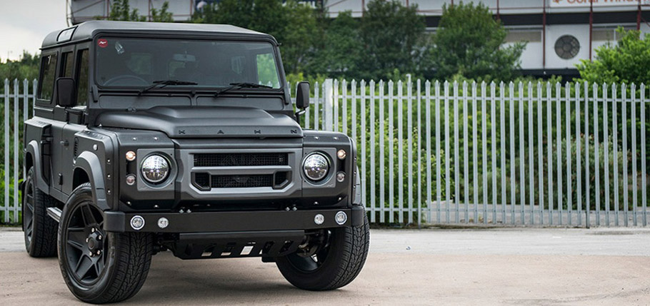 Kahn Land Rover Defender 110 Station Wagon The End Edition  Front View
