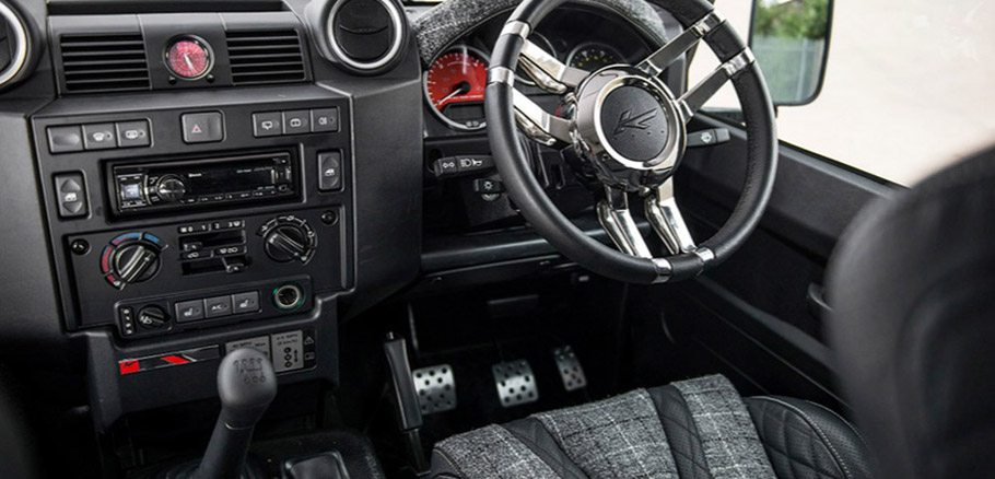 Kahn Land Rover Defender 110 Station Wagon The End Edition Interior