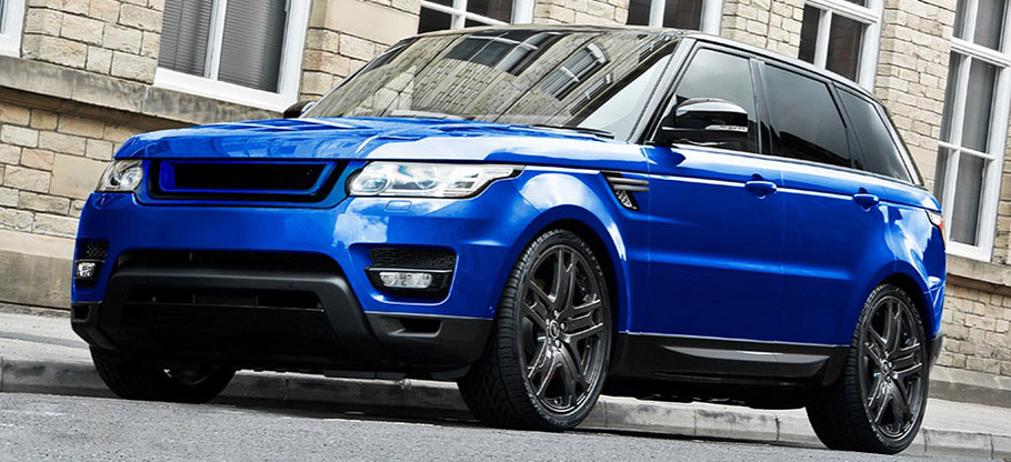Kahn Range Rover Sport HSE Colours Of Kahn Edition Front View