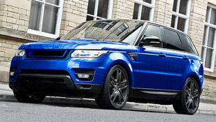 colors of kahn expressed with special edition range rover sport hse