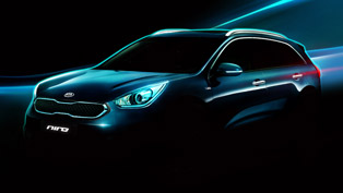 Kia Releases First Official Sketches of Niro HUV