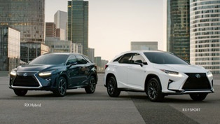 Lexus Launches Ad Campaign for the 2016 RX Facelift Upgrade