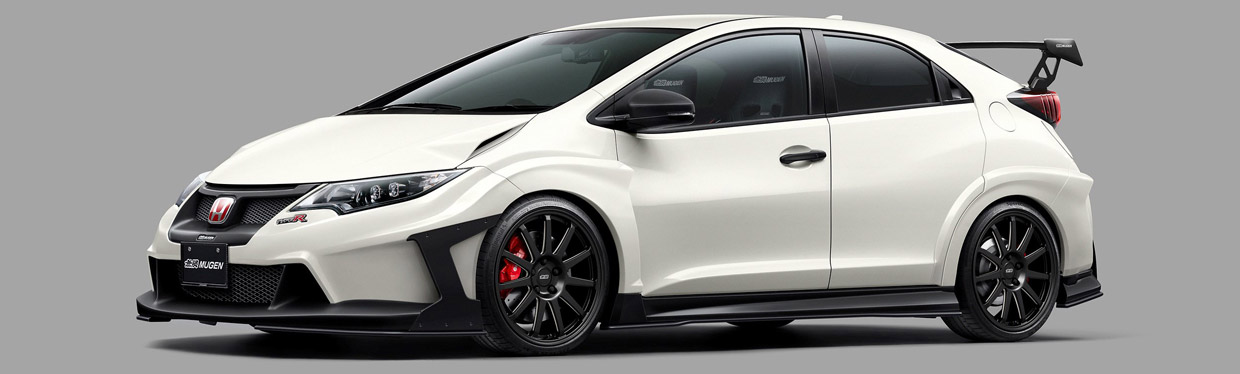 MUGEN Honda Civic Type R Concept Front View