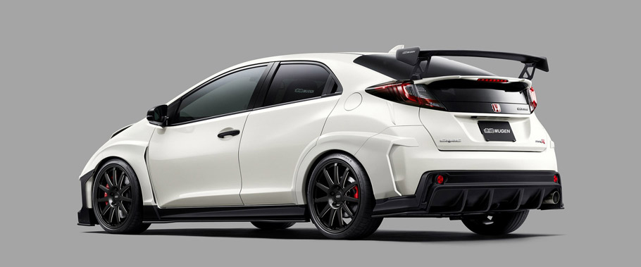 MUGEN Honda Civic Type R Concept Rear View