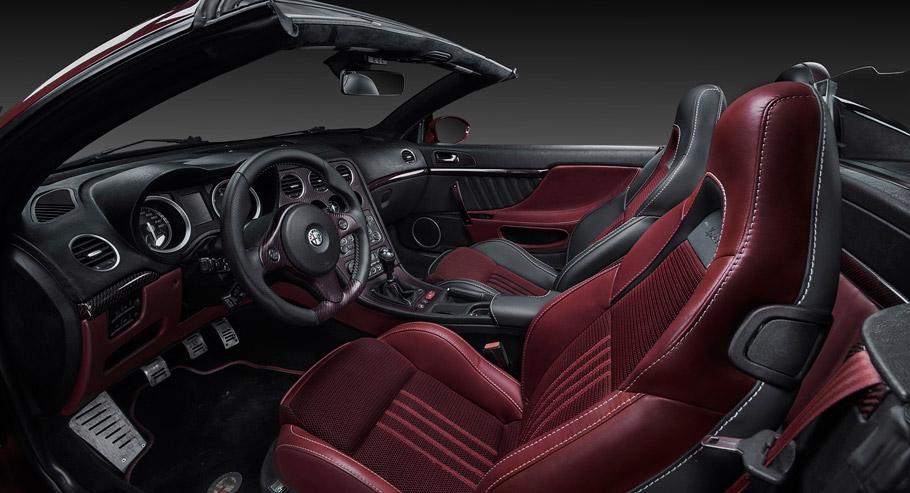 Vilner's Fibra de Carbono Rosso Interior