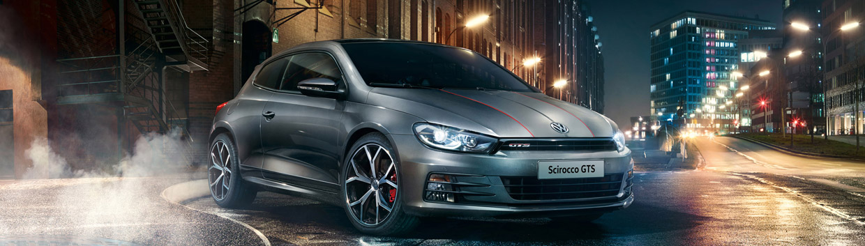 Scirocco GTS Special Edition Front View