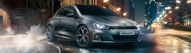 Volkswagen Expands the Range with new Trim Levels and Adds Badass Scirocco GTS Special Edition