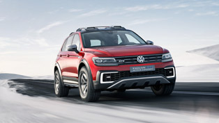 2017 Tiguan GTE Active Concept Will Challenge the Harsh Off-Road Conditions