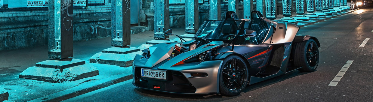 WIMMER KTM X-Bow GT Front View