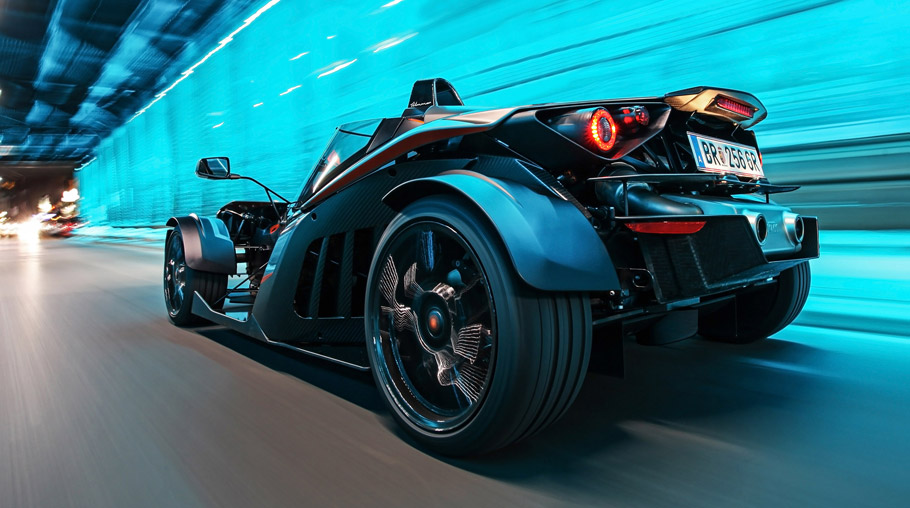 WIMMER KTM X-Bow GT Rear View