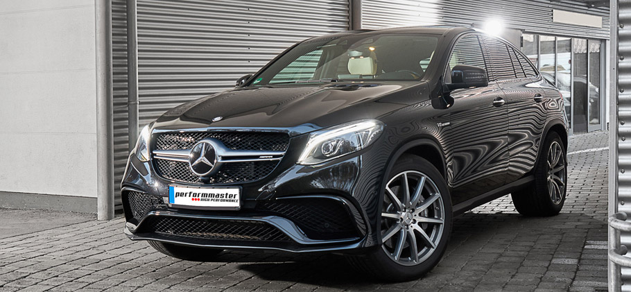 2016 performmaster Mercedes-AMG GLE 63 Front View