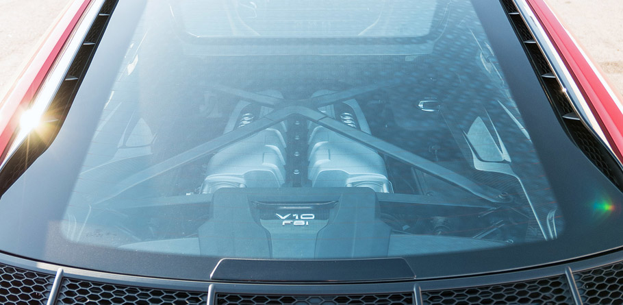 2017 Audi R8 Engine
