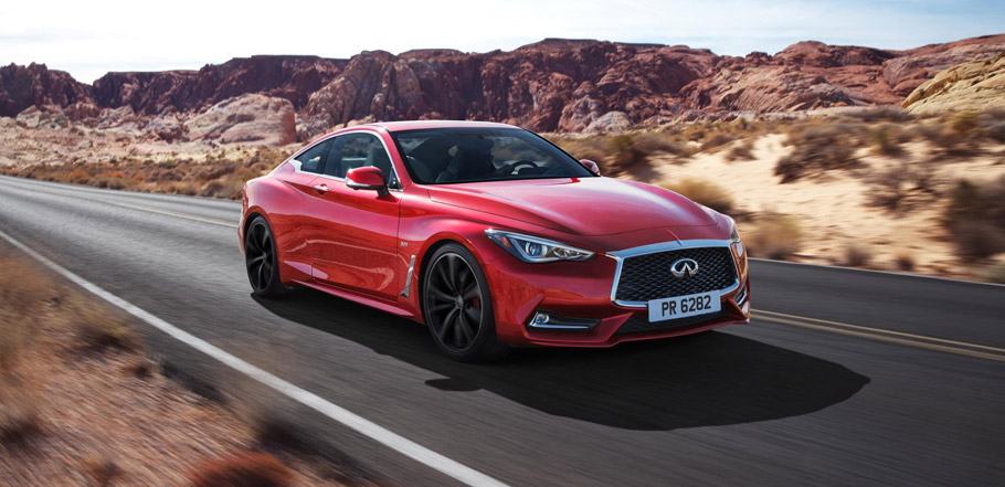 Infiniti Q60 Front View