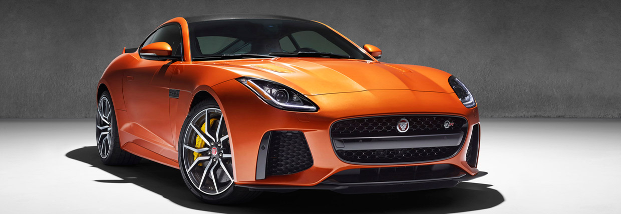 Jaguar F-TYPE SVR Front View