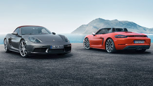 Everything You Need to Know About the 2017 Porsche 718 Boxster and Boxster S