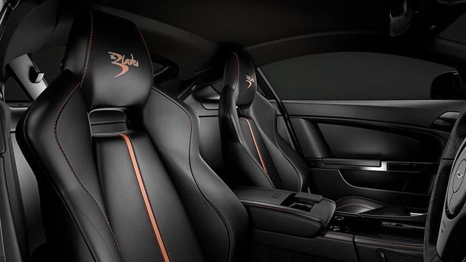 Aston Martin V8 Vantage S Blades Edition Interior 2
