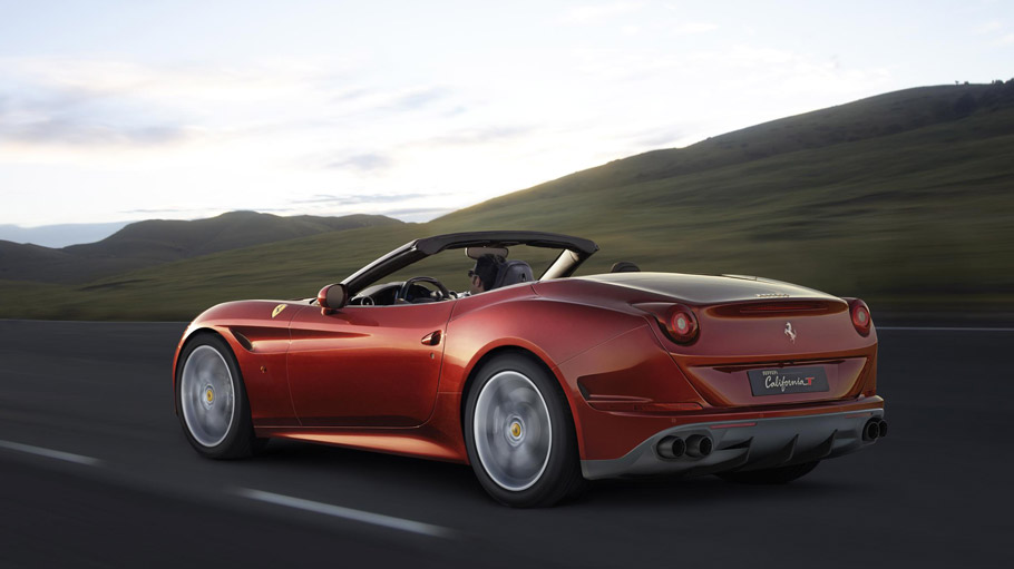 Ferrari California T HS Rear View