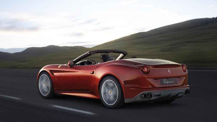 Ferrari California T HS Rear View