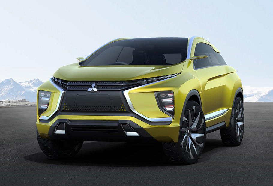 Mitsubishi eX Concept Exterior 2