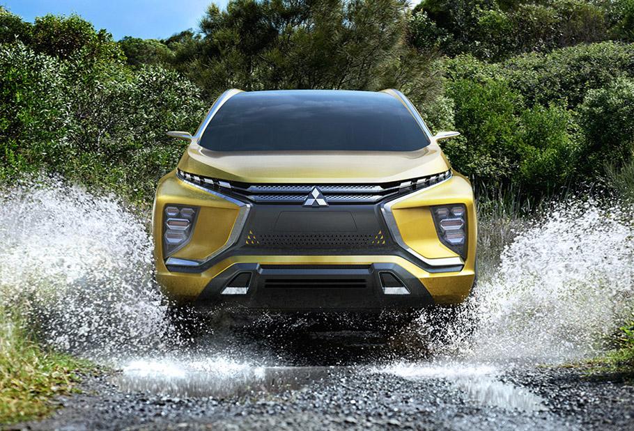 Mitsubishi eX Concept Exterior 1