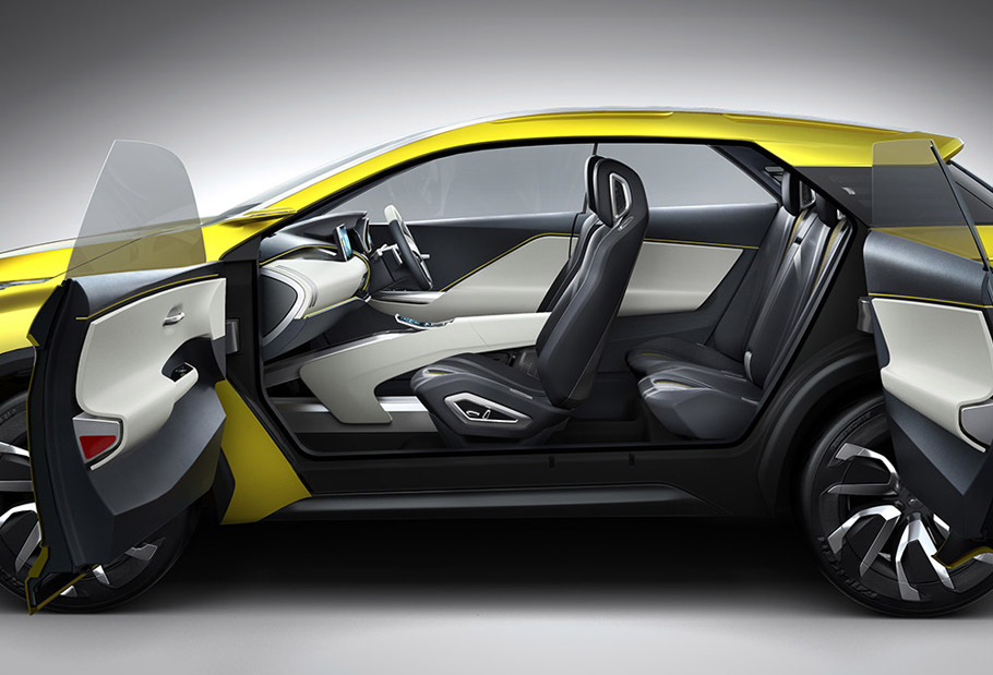 Mitsubishi eX Concept Exterior and Interior