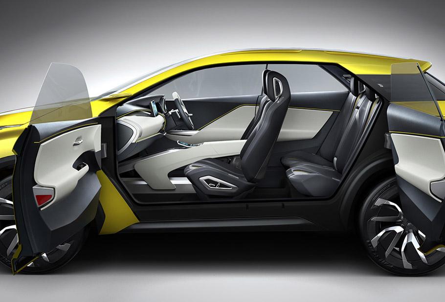 Mitsubishi eX Concept Exterior and Interior