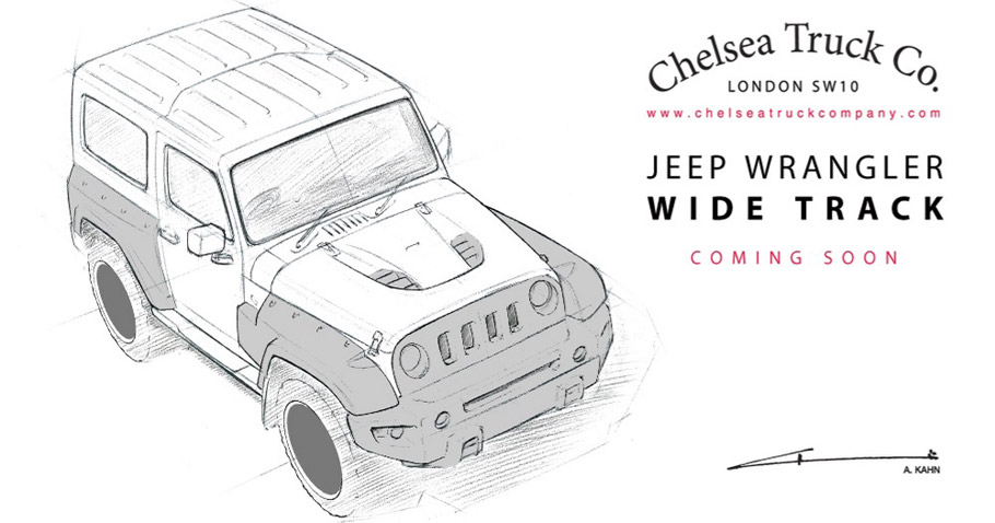Chelsea Truck Company Wide Track S