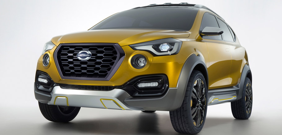 Datsun GO-cross Concept front view