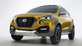 another debut for datsun go-cross concept [w/videos]