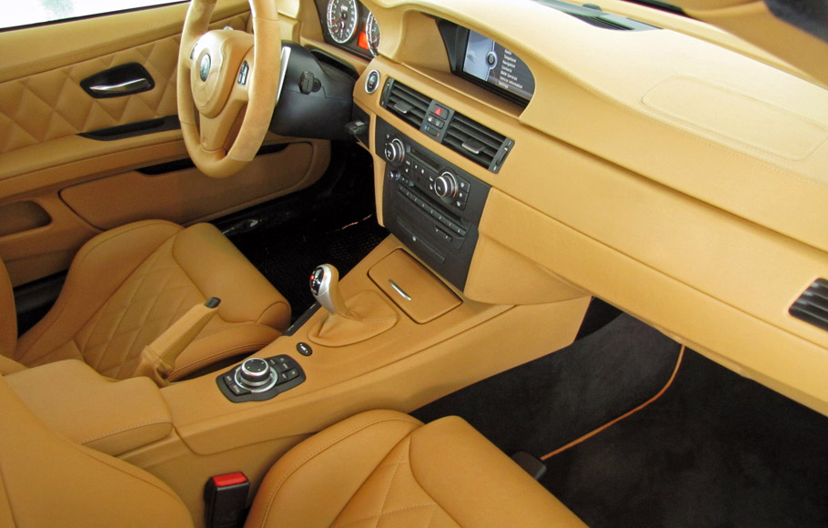 Alpha-N Performance BMW M3 BT92 V10 Interior