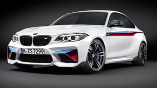 BMW M2 Coupe Gets Equipped with M Performance Parts