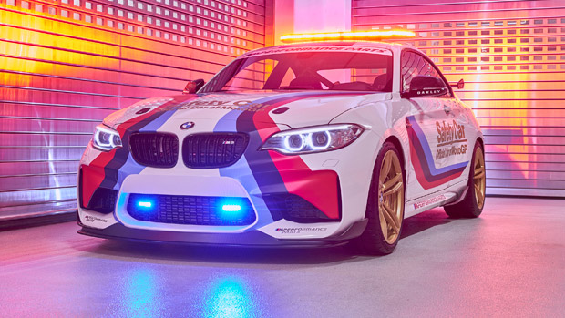 BMW M Division and MotoGP Unveil the Latest 2016 M2 Safety Car [w/video]