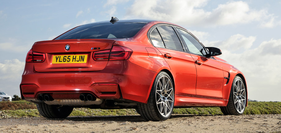 2016 BMW M3 Competition Package