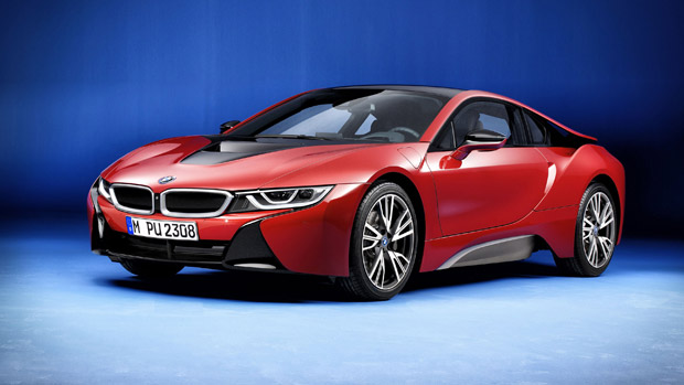 BMW to Produce Limited Series of i8 Protonic Red Edition