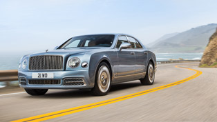 bentley showcases the luxurious and aggressive mulsanne