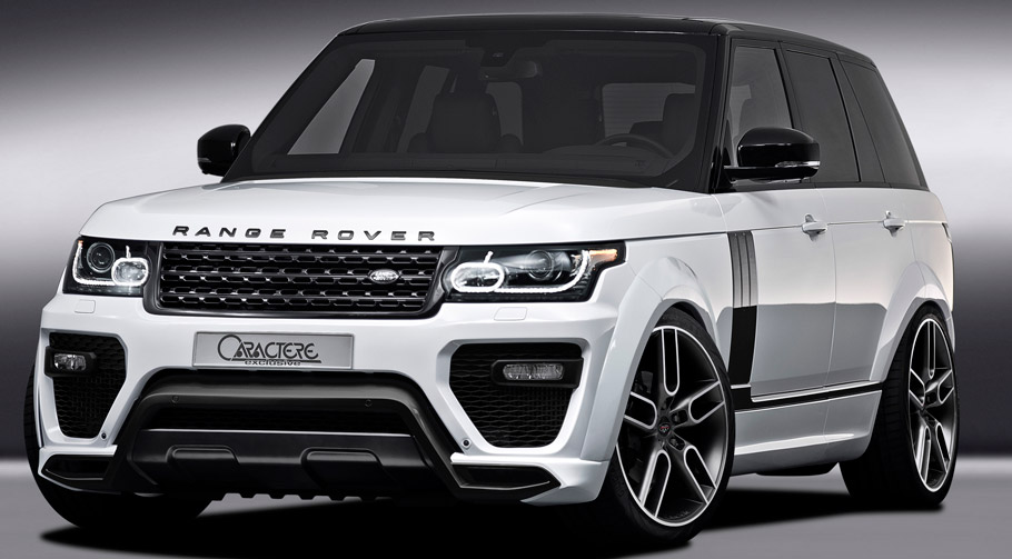 Caractere Range Rover Front View