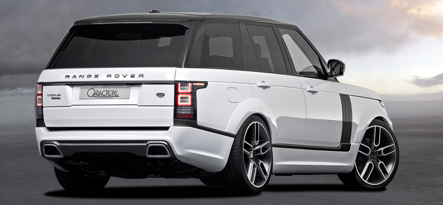 Caractere Range Rover Rear View