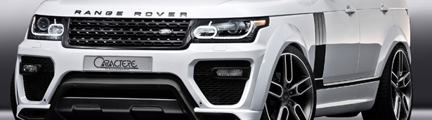 JMS to Exhibit the Exclusive Caractere Range Rover in Geneva