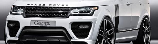 JMS to Exhibit the Exclusive Caractere Range Rover in Geneva